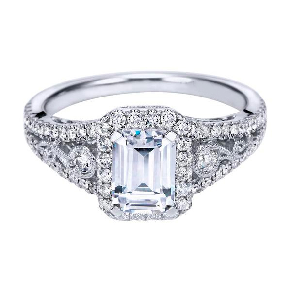 Emerald Cut Diamond Rings for Sale