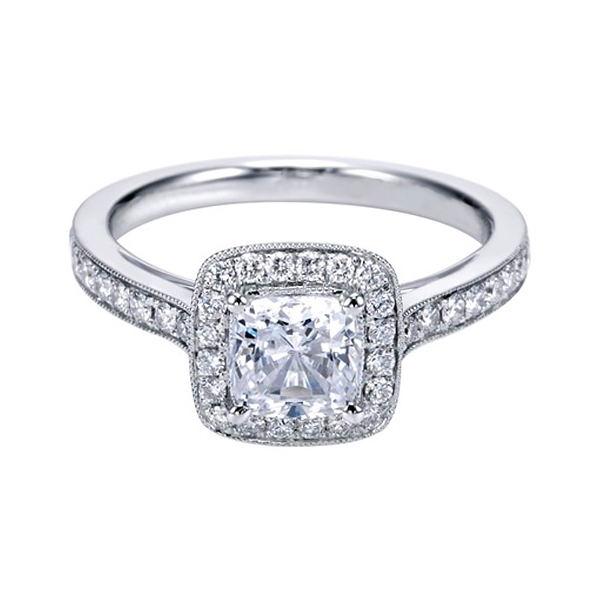 Cushion Cut Diamond Rings for Sale