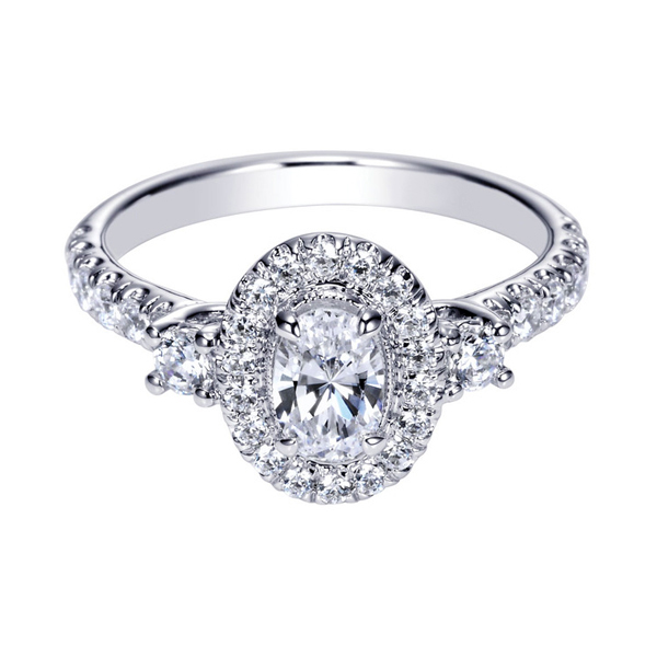 Oval Cut Diamond Rings for Sale