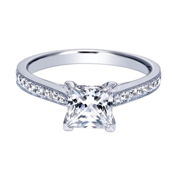Princess Cut Diamond Rings for Sale