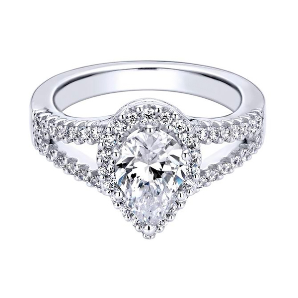 Pear Cut Diamond Rings for Sale