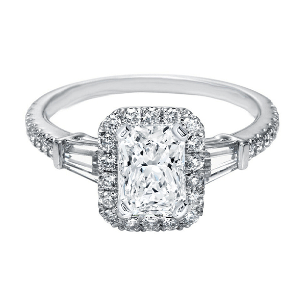 Radiant Cut Engagement Rings Toronto