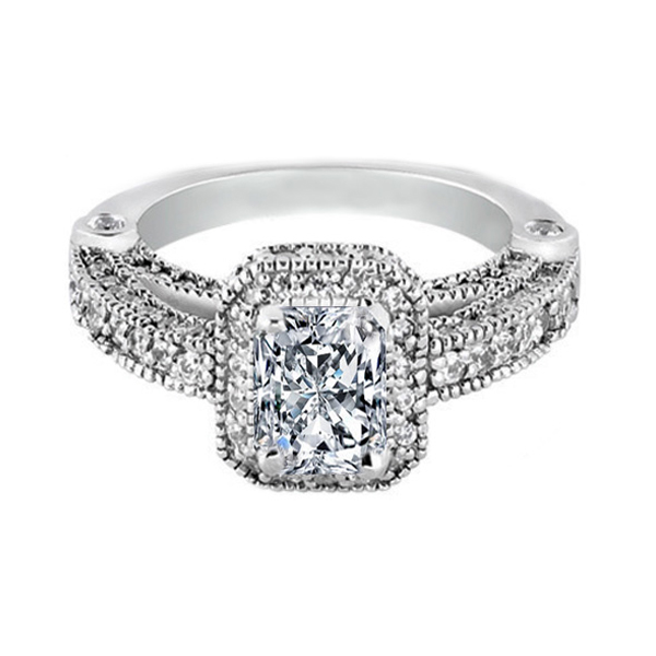 Radiant Cut Diamond Rings for Sale
