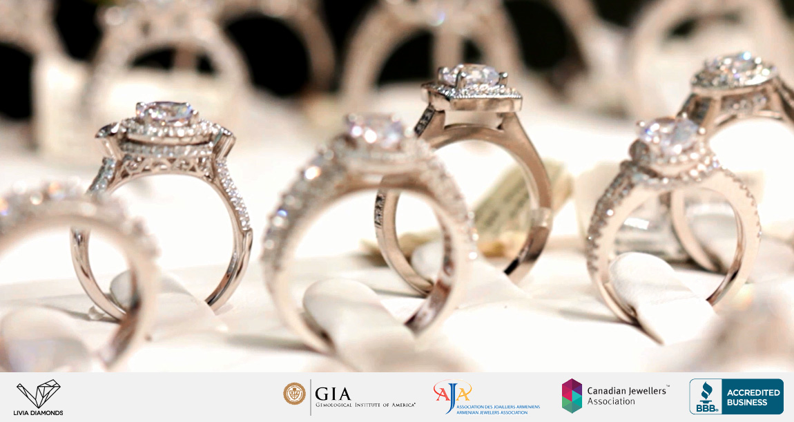 Diamond Carat Weight Custom Engagement Rings Toronto