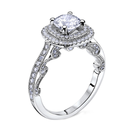 Halo Diamond Engagement Rings in Toronto