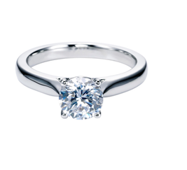Solitaire Custom Diamond Rings in Toronto